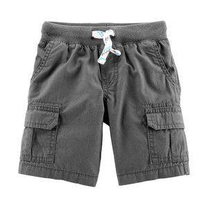 Carter's Solid Cargo Shorts - Toddler Boys